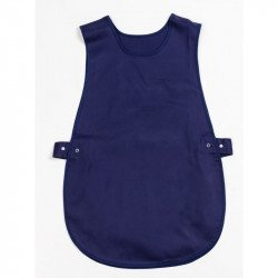 Tablier chasuble Bleu marine - Taille L WHITES CHEFS APPAREL Tabliers