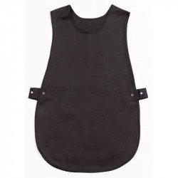 Tablier chasuble Noir - Taille L WHITES CHEFS APPAREL Tabliers