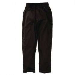 Pantalon baggy noir Cool Vent Chef Works - Taille XS CHEF WORKS Nisbets Vêtements