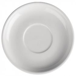 Lot de 24 soucoupes Ø 145 mm - porcelaine - Hotelware ATHENA HOTELWARE Attente Alex