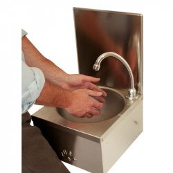 Lavabo commande au genou (pré-assemblé) BASIX Laves-mains