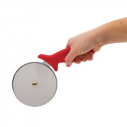 Roulette à pizza rouge 102mm VOGUE Coupes pizza