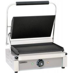 Grand grill panini rainuré - L 410 x P 370 x H 200 mm - inox CASSELIN Paninis