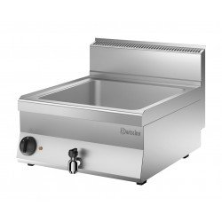 Bain Marie L 600 x P 650 mm - Cuve 1 x GN1/1 + robinet  Bartscher Bains-Marie