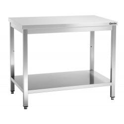 Plan de travail H 850 x P 700 mm, inox Bartscher Tables inox