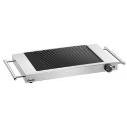 Plaque grille vitro GP1200, rainuré Bartscher Induction