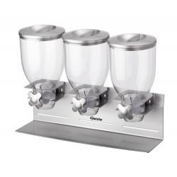 Triple distributeur de céréales Bartscher Distributeurs de céréales