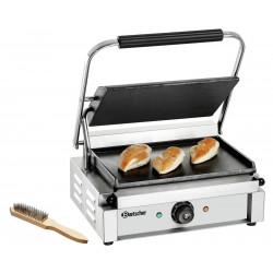 Grill panini lisse - L 410 x P 370 x H 200 mm - 2200 W - inox Bartscher Paninis