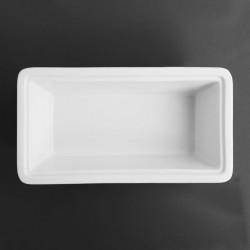 Plat en porcelaine GN 1/3 (P) 100 mm, OLYMPIA OLYMPIA Plats