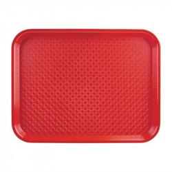 Plateau Kristallon rouge 345x265mm KRISTALLON Plateaux de service