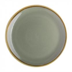 Lot de 6 assiettes plates 'mousse' Kiln Ø230mm OLYMPIA Collection Kiln