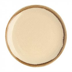Lot de 6 assiettes plates 'sable' Kiln Ø230mm OLYMPIA Collection Kiln