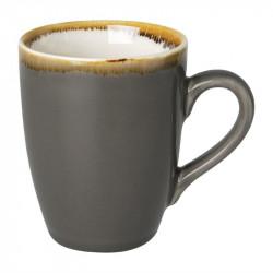 Lot de 6 mugs 'gris' Kiln 340ml OLYMPIA Collection Kiln