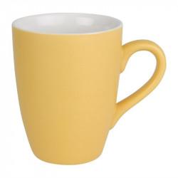 Lot de 6 mugs 320ml jaune Brighton porcelaine OLYMPIA Collection Brighton