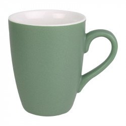 Lot de 6 mugs 320ml vert Brighton porcelaine OLYMPIA Collection Brighton