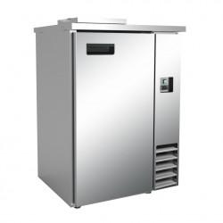Cellule à déchets réfrigérés 1 porte inox L2G Poubelles