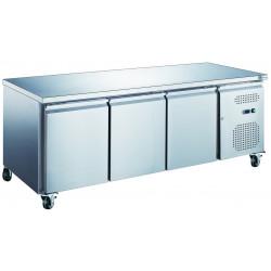 Table 339 Litres réfrigérée 3 portes inox AFI Collin Lucy Tables et soubassements