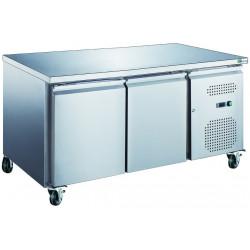 Table 282 Litres réfrigérée 2 portes inox AFI Collin Lucy Tables et soubassements