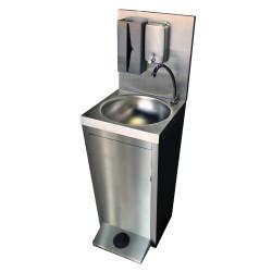 Lave-mains autonome inox, commande au pied L2G Laves-mains