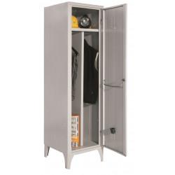 Armoire / Vestiaire 1 colonne, 1 casier, pour industrie salissante, acier EQUIPEMENT DIRECT Casiers / Vestiaires