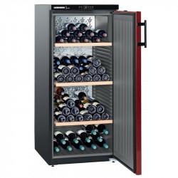 Cave à vins 164 bouteilles - 1 zone mono-température & porte pleine - Liebherr Liebherr Caves à vin