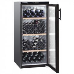 Cave à vins 164 bouteilles - 1 zone mono-température & porte vitrée - Liebherr Liebherr Caves à vin