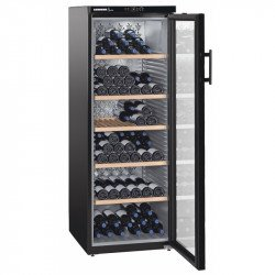Cave à vins 200 bouteilles - 1 zone mono-température & porte vitrée - Liebherr Liebherr Caves à vin