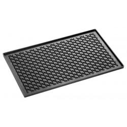 Plaque grill L 530 x P 325 mm, fonte d'aluminium Bartscher Plats inox