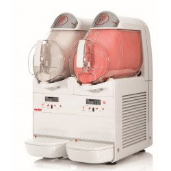 Distributeur 6 L de desserts glacés - 2 cuves Ugolini Machines à glaces italiennes