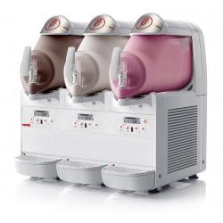 Distributeur 6 L de desserts glacés - 3 cuves Ugolini Machines à glaces italiennes