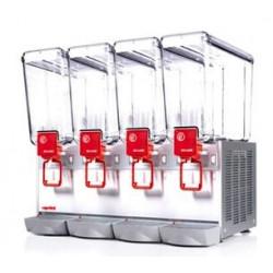 Distributeur 12 L de boissons froides - 4 cuves Ugolini Distributeurs de boissons froides
