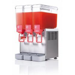 Distributeur 3 cuves de boissons froides - 8 Litres Ugolini Distributeurs de boissons froides