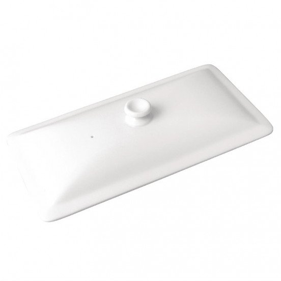 Couvercle blanc GN 1/3 - porcelaine OLYMPIA Collection Whiteware