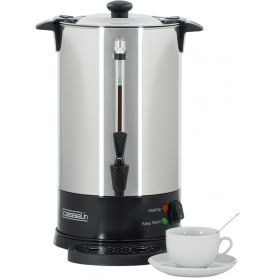 Percolateur à café - 8.8 L - 60 tasses - paroi simple - inox CASSELIN Percolateurs à café