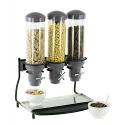 Distributeur de céréales 3 x 3 Litres - hermétique CASSELIN Distributeurs de céréales