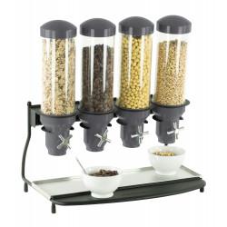 Distributeur de céréales 4 x 3 Litres - hermétique CASSELIN Distributeurs de céréales