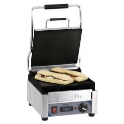 Petit grill Panini lisse - L 300 x P 490 x H 265 mm - minuteur - inox CASSELIN Paninis