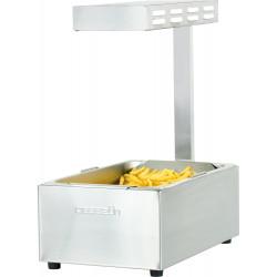 Chauffe-frites GN 1/1 - Infrarouge - inox CASSELIN Chauffes frites
