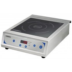 Plaque à induction 3500 W - digitale / tactile - 10 niveaux - inox CASSELIN Induction