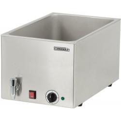 Bain-marie GN 1/1 - (P) 200 mm + robinet de vidange - inox CASSELIN Bains-Marie