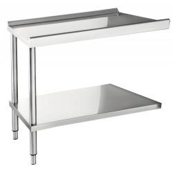 Table d'entrée / sortie pour lave-vaisselle 1200 mm CASSELIN Accessoires et pièces détachées