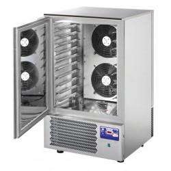 Cellule de refroidissement mixte - 10 niveaux GN 1/1 ou 600 x 400 - inox L2G Cellules de refroidissement