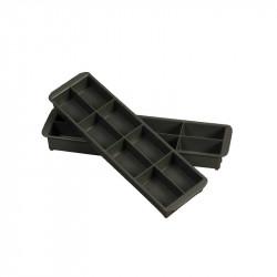 Casier pour bac d'intervention - L 104 x P 382 x H 42 mm - gris Gilac Produits divers