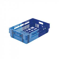 Caisse 26 Litres liaison froide bicolore - bleu / bleu Gilac Bacs métiers