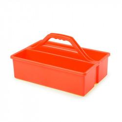 Bac d'intervention à poignée - orange - PEHD Gilac Produits divers