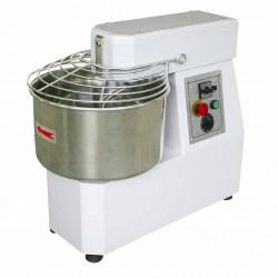 Pétrin 25 litres à spirale - 1 vitesse - cuve fixe 18 Kg de pâte - inox EQUIPEMENT DIRECT Pétrins à spirale