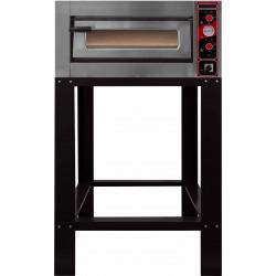 Four électrique 6 pizza Ø 300 mm 6000 W - Chambre : L 620 x P 920 x H 150 mm - inox EQUIPEMENT DIRECT Fours à pizzas