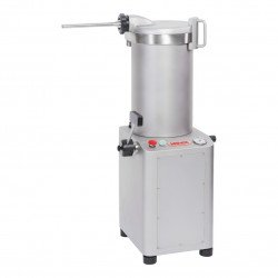 Poussoir hydraulique 20 litres - 920 W - Piston inox / couvercle aluminium MATERIEL ALIMENTAIRE PRODUCTION Poussoirs
