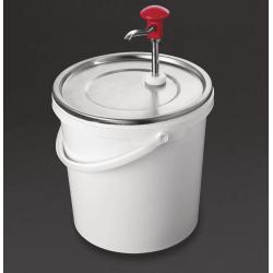 Distributeur de sauce à pompe 10L Schneider Distributeurs de sauce