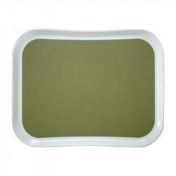 Plateau L 330 x P 430 mm en polyester, vert sauge - CAMBRO CAMBRO Plateaux de service